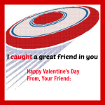 Flying discs, anything that flies! Great Non-candy Valentine idea + Free Printable!!!!