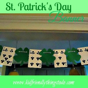 St. Patrick's Day Banner Idea!