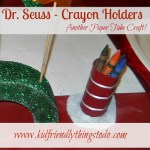 Cat in the Hat Crayon Holder