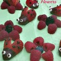 Chocolate covered strawberries disguised as ladybugs! How cute! Perfect for a fun summertime dessert!