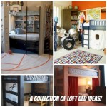 A collection of super cool loft beds! What a great way to save floor space!