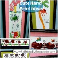 I looooove Hand Print Art! These ideas are so clever!
