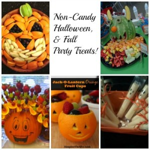 I have to say...I don't think the kids would be disappointed if you walked into a Fall or Halloween class party with one of these healthy, non-candy treats!