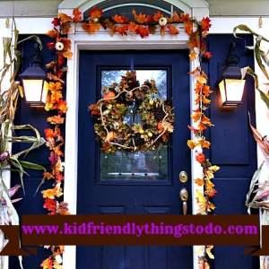 Fall Porch Display