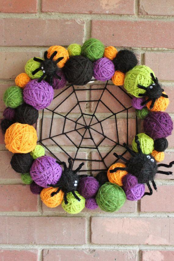 DIY Halloween Wreath - Kid Friendly Things To Do .com