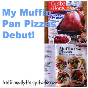 Easy, and delicious Pizzas in a Muffin Pan!