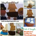 The turkey usually steals the show on Thanksgiving, but the Mayflower should really have the spotlight! Simple Mayflower crafts for kids!