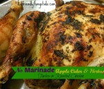 Who has time to marinade a turkey or chicken? This is a great recipe for a no-marinade Thanksgiving! Delicious!