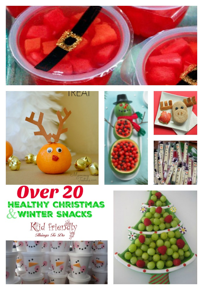 Fruit & More - Over 20 Non-Candy Healthy Kid's Christmas Party Snacks