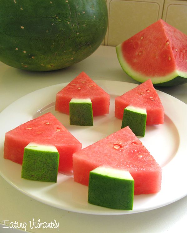 healthy non fruit snacks is watermelon a fruit