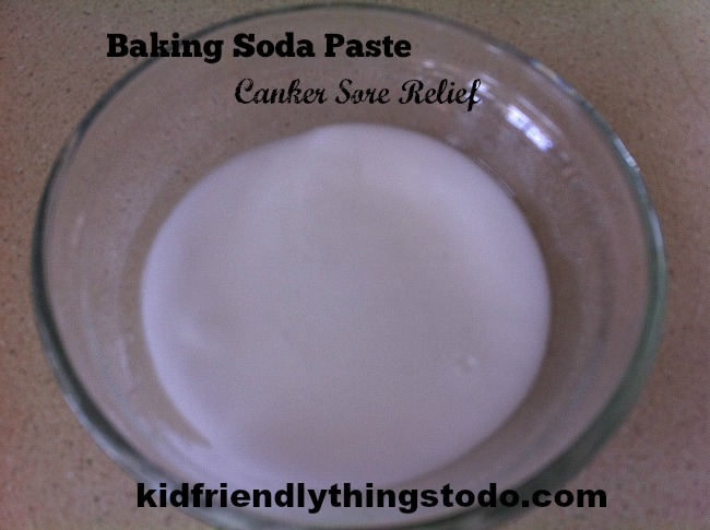 DIY home remedy for canker sores! This really worked on me.
