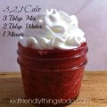 kid friendly things to do, 3-2-1 cake, cake in a mug, microwaveable cake, easy cake, cooking with kids