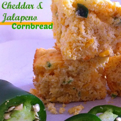 Shortcut Jalapeno & Cheddar Cornbread Using Jiffy