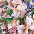 Artichoke, Asparagus, and Lemon Pasta