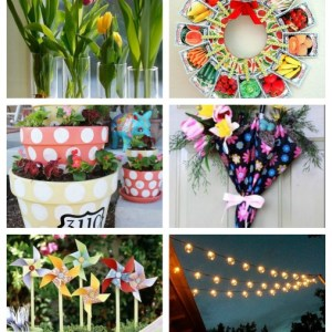 Spring Porch Decorations and Spring Ideas For the Home