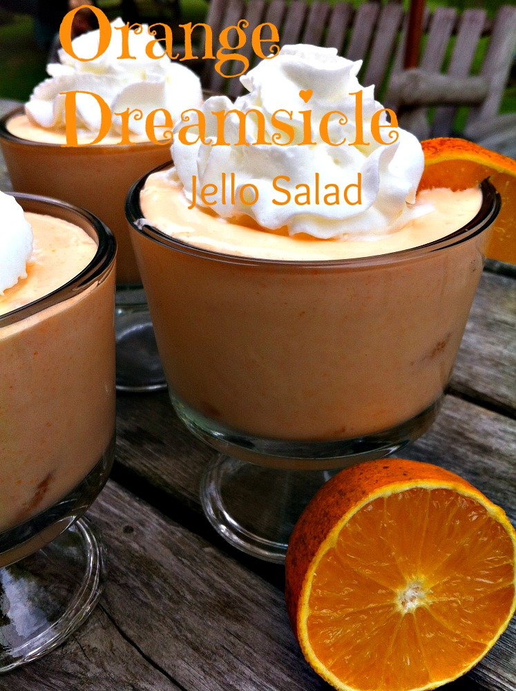 Orange Dreamsicle Jello Salad Recipe