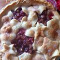 Fresh Cherry Pie Recipe with the most flaky crust ever! This pie is so simple to make and perfect for BBQs, holiday dinners, and parties!
