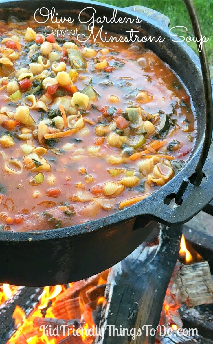 Olive Garden 39 S Copycat Minestrone Soup Recipe