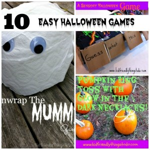 A Round Up of Simple and Fun Halloween Party Games! - KidFriendlyThingsToDo.com