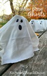 Easy Water Bottle Ghosts For Halloween Party Drinks! - KidFriendlyThingsToDo.com