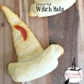Crescent Roll Witch Hats for a Fun Halloween Party Food. www.kidfriendlythingstodo.com