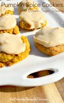 Soft Pumpkin Spice Cookies with Brown Sugar Frosting. I'm have been getting recipe requests for this, so I'm sharing it, today! - KidFriendlyThingsToDo.com
