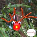 Easy Rudolph Tea Light Christmas Ornament for Kids to make! www.kidfriendlythingstodo.com