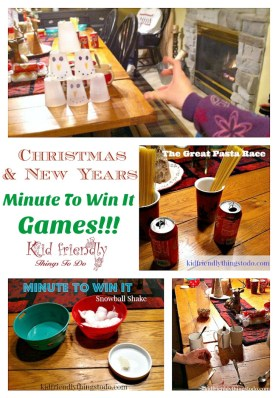 Awesome Kid Friendly Minute To Win It Party Games - www.kidfriendlythingstodo.com