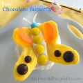 Easy to make chocolate butterflies for cupcake toppers or whatever else you need them for! Perfect for spring and summer parties - KIdFriendlyThingsToDo.com