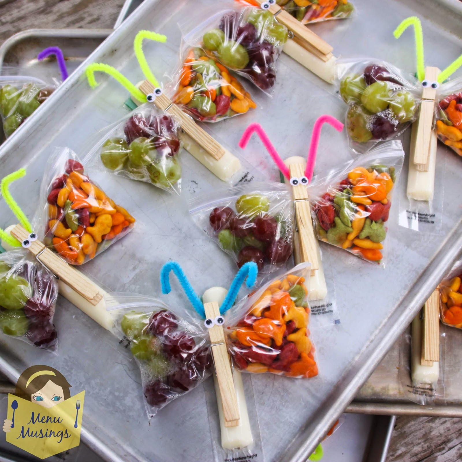 A Collection Of Springtime Fun Foods For Kids