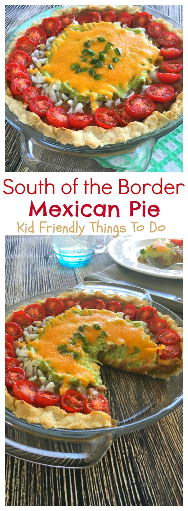 Wow! This Mexican Casserole Recipe is amazing! Amazing and easy to make! KidFriendlyThingsTodo.com