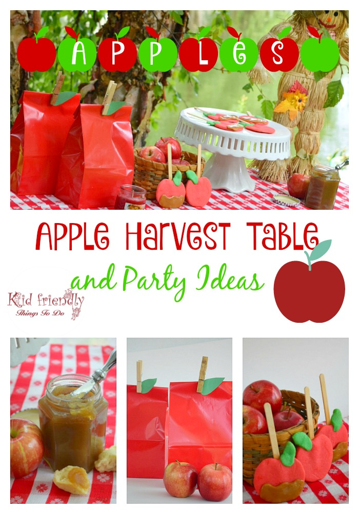 a fall apple themed harvest party recipes crafts games more. Black Bedroom Furniture Sets. Home Design Ideas