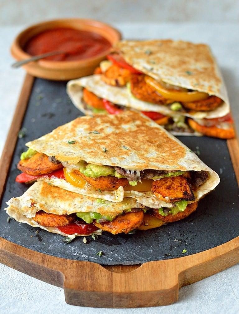 Over 30 Burrito Chimichanga and Quesadilla Mexican Recipes