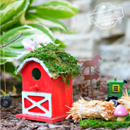 Make a Cute Fairy Farm for Your  Fairies and Kids in the Garden
