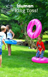 Human Ring Toss Game - A Fun and Easy Summer Outdoor Game ...