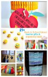 "Over 21 DIY Back To School Teacher Gift, Organizing and Homework Ideas - It's all about getting ready for ""Back To School""! www.kidfriendlythingstodo.com"