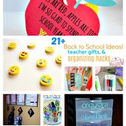 Over 21 DIY Back To School Teacher Gift, Organizing and Homework Ideas