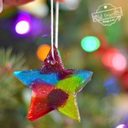 Melted Jolly Rancher Ornaments – A Fun Christmas Craft