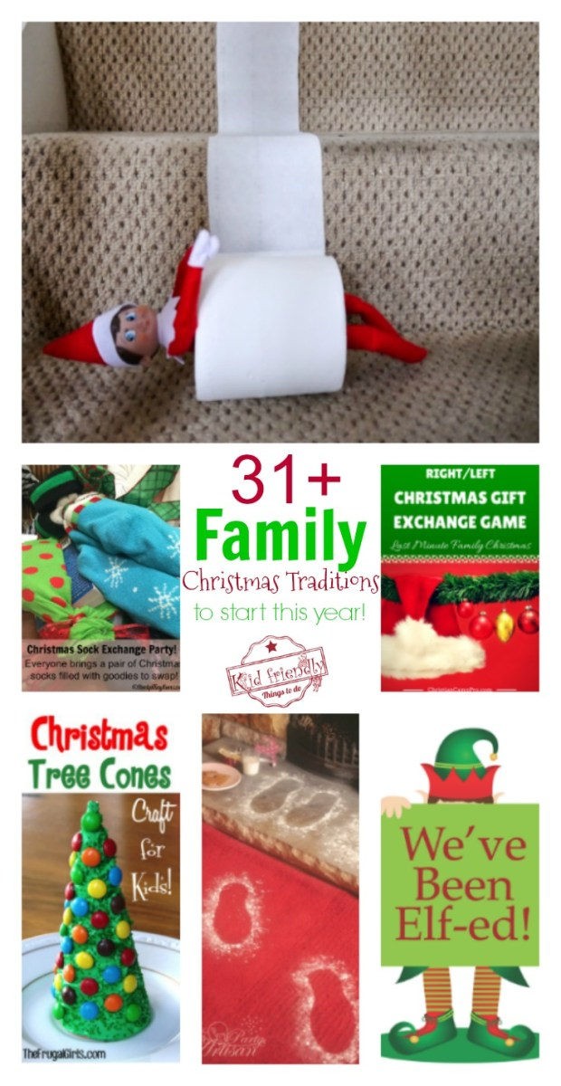 Over 31 Family Christmas Tradition Ideas to Start Making Memories This Year!