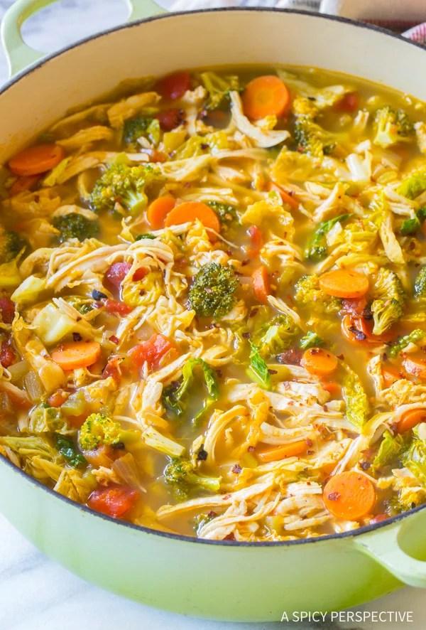 Skinny Kitchen Taco Soup