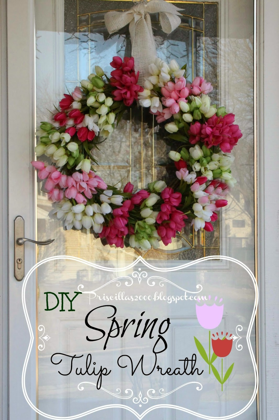 Over 27 DIY Easter And Spring Wreath Amp Door Decorations