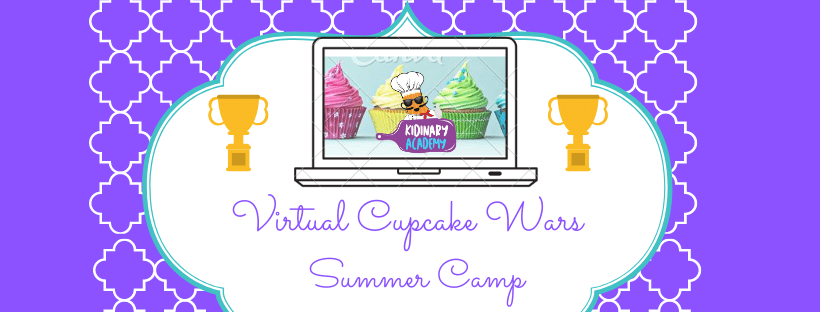 Newly Added Session – Virtual Cupcake Wars Summer Camp ( 10 – 12 CST) | Ages 8-14 | Aug. 10-14