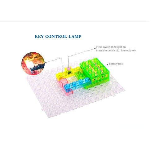 Kids Lab Electronic Circuit Blocks Educational Science Kit Pictures