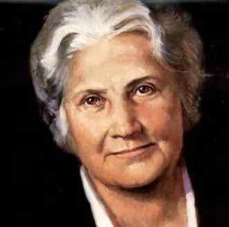 Méthode Montessori : photo de Maria Montessori