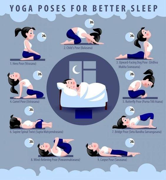 Yoga pour enfant : étirements pour bien dormir
