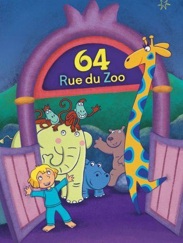 64, rue du zoo : lucy et ses amis les animaux
