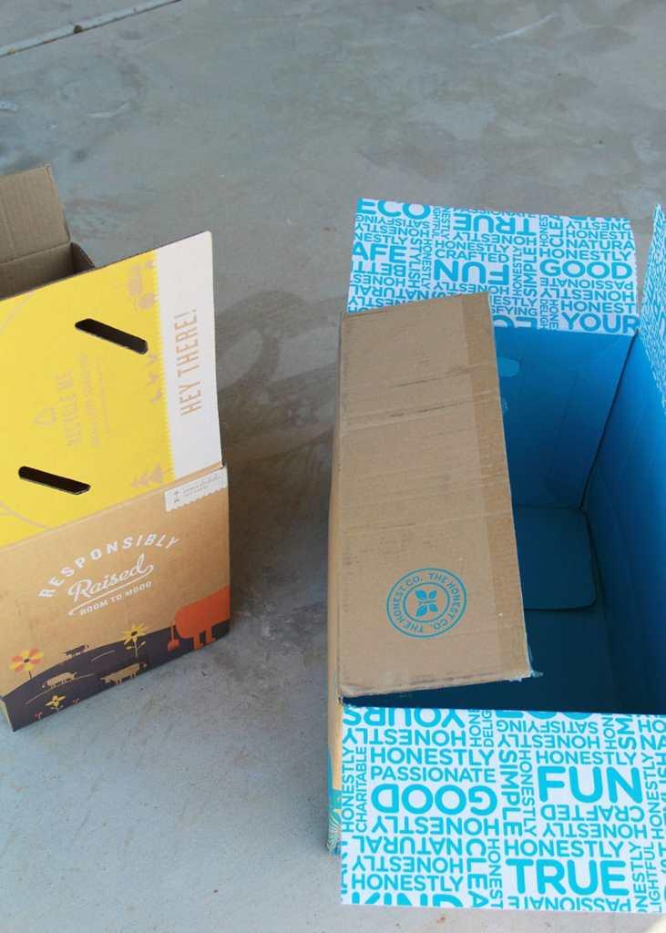 Grand carton