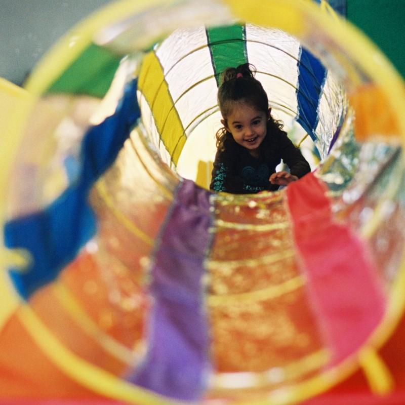 gymnastics games and parachute