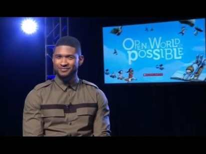 Usher – Open a World of Possible PSA