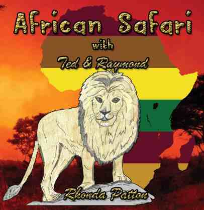 "Rhonda Patton Lion Book ""African Safari"""